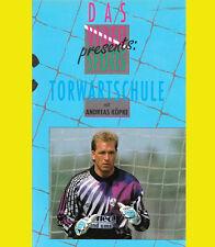 TORWARTSCHULE Andreas Köpke ANDY Fußball TOR Training AUTOGRAMM signiert RAR VHS