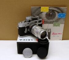 "Leitz Wetzlar - Leica M3 DS Kit Elmarit-M 2.8/90mm ""intaktes L-Siegel"" - RAR!"