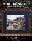 Mort Kunstler Jackson Commandeers the Railroad Mini Print Custom Framed