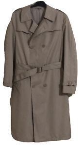 DEBENHAMS Vintage Men Lined Trench Coat. Size 38/97. EUC