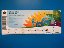 Ticket quart-finale COUPE DU MONDE FOOTBALL 2014 France - Allemagne