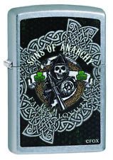 Zippo Sons of Anarchy SOA Spring Fear the Reaper  2018 NEU&OVP 60003938