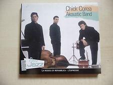 CD CHICK COREA - AKOUSTIC BAND - PIANO JAZZ N.3 Repubblica L'Espresso