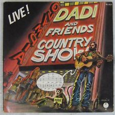 Dédicace Marcel Dadi 33 tours Country Show 1975