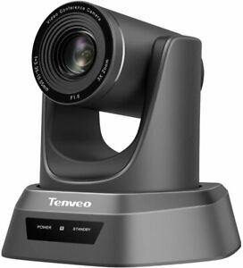 Tenveo 3x Optical Zoom Conference Camera, 1080p Full HD Wide Angle Webcam with R