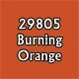 29805 BURNING ORANGE - 0.5 oz Dropper Reaper High Density Paints