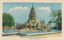 1922 Marseille Exposition Coloniale Palais de l'Incochine Indochina