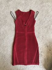 Authentic Herve Leger Red Small