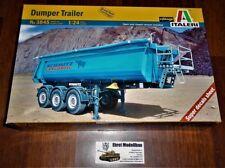Für LKW Truck  Dumper Trailer Muldenkipper Anhänger 1:24 Italeri 3845 Neu