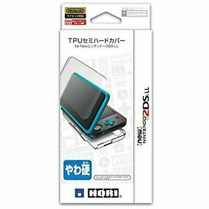 HORI New Nintendo 2DS XL(LL) Official TPU Semi-Hard Cover Case Clear 2DS-106*