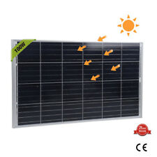 100 Watt 100W Watts Solar Panel 12V Volt Poly Off Grid Battery Charge S2