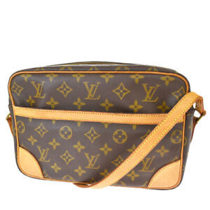 Auth LOUIS VUITTON Trocadero 27 Shoulder Bag Monogram Leather BN M51274 34SB590