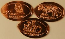 Latvia - elongated coins of the Riga zoo