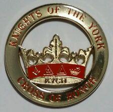 Freemason Knights of the York Cross of Honour (KYCH) Car Emblem