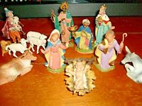 Vintage Fontanini Nativity Set DEPOSE ITALY - Lot of 13  $24.99 PRICE CUT