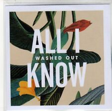 (EQ399) Washed Out, All I Know - 2013 DJ CD