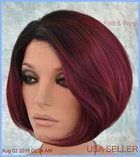 FABULOUS BOLD by Revlon Wigs - LACE FRONT - New Color PLUM DANDY