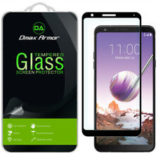 Dmax Armor Full Cover Tempered Glass Screen Protector-Lg Stylo 4+/ Stylo 4 Plus