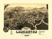 Lancaster New Hampshire - Beck 1883 - 23.00 x 30.27