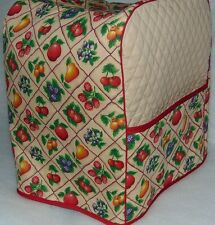 Fruit Squares Quilted Cover - KitchenAid Mixer NEW
