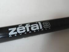 *Vintage 1980s Zefal 3 presta black racer bicycle pump*