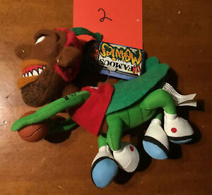 "1998 Infamous Meanies Dennis ""Rodmantis"" Rodman Basketball Star Plush Toy"