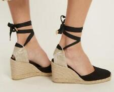 Sexy US4-11 Womens Espadrille Wedge Heel Ankle Strap Sandals Big Yard Shoes Size
