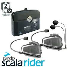 Cardo Scala Rider Q3 Multiset Motorcycle Bluetooth Intercom Headset