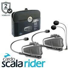 Cardo Scala Rider Q3 Multiset Motorcycle Bluetooth Intercom Headset