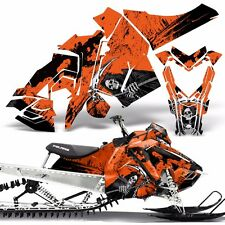 Sled Wrap for Polaris AXYS Graphic Kit Stickers Snowmobile SKS Pro RMK REAP ORNG