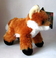 Aurora Mini Flopsie Foxxie The Red Fox 8 inch Stuffed Plush New 31290