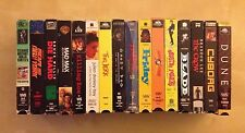Lot Of the BEST VHS Movies. The Jerk. Killing Zoe. Friday. Ghost Dog. Blade etc