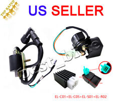 50 70cc90cc125cc Regulator Rectifier Relay Ignition Coil CDI Chinese ATV Quad