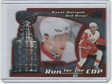 2008-09 Black Diamond #15 Run for the Cup Pavel Datsyuk  /100