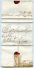 1742 letter from Cairo, Egypt, to Venice, Italy.