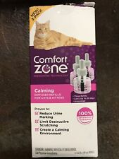 New listing Comfort Zone Feliway Cat Diffuser Triple Refill (3 Pack) - Open/Damaged Box