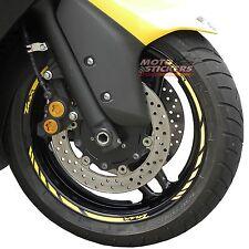 "YAMAHA TMAX kit Adesivi Ruote/Cerchi racing  - cerchi da 15"" - stickers wheels"