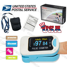 CONTEC Fingertip Pulse Oximeter SPO2 PR Heart Rate Monitor Blood Oxygen Machine