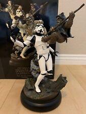 Sideshow Star Wars Fall of the Empire polystone diorama