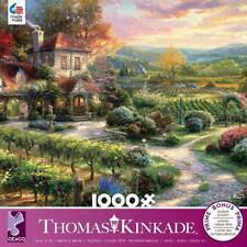 CEACO THOMAS KINKADE JIGSAW PUZZLE WINE COUNTRY LIVING 1000 PCS #3310-70