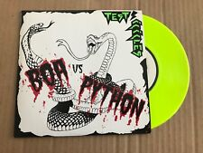"Test Icicles - Boa Vs. Python - Yellow 7"" - UNPLAYED - Discount For 2+"