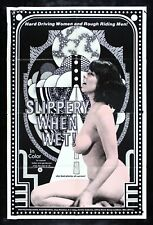 SLIPPERY WHEN WET ✯ CineMasterpieces 1976 ADULT ORIGINAL MOVIE POSTER X RATED