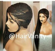 Beyonce Lemonade Style Handmade Full Lace Braided Wig Baby Hairs Frontal Front