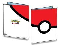 Ultra Pro Pokemon 4 Pocket Pokeball Portfolio Card Binder Holds 80 Cards SKU#209