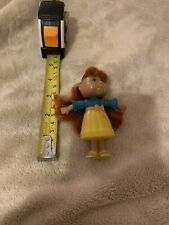 "Mini cabbage Patch Doll. 3 3/4 Inches Tall. ""real� Hair. Burger King Toy"