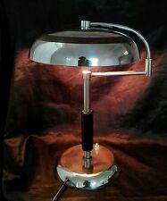 RARE & ORIGINAL Art Deco MAISON DESNY Desk Light TABLE LAMP  BAUHAUS 1920s