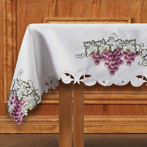 Color Embroidered Vineyard Altar Frontal