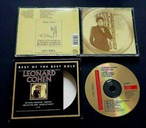 CD - Leonard Cohen – Greatest Hits - Columbia CD 32644 - 1998 - Folk Rock