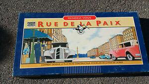 Rue de la Paix - Parker (complet, 1985)
