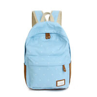 New Backpack Women Fashion Lady Double Shoulder School Bag Travel Rucksack